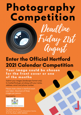 Image for Hertford Calendar Competition 2021
