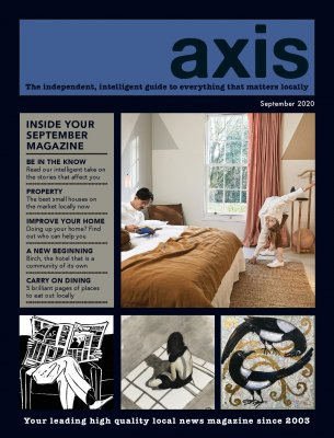 Image for September Axis Magazine now available online