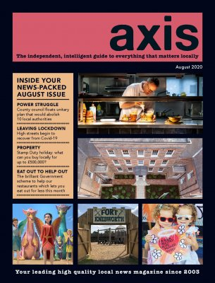 Image for August Axis Magazine now available online