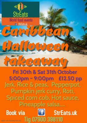 Image for StrEats World Food - Caribbean Halloween Takeaway