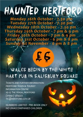 Image for Haunted Hertford Walk - SOLD OUT
