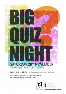 Image for Courtyard Arts - BIG QUIZ NIGHT