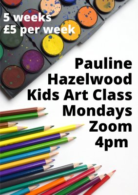 Image for Kids Art Class with Pauline Hazelwood