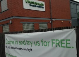 Image for Nuffield Health Fitness and Wellbeing Gym
