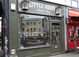 Image for The Little Green Barbers